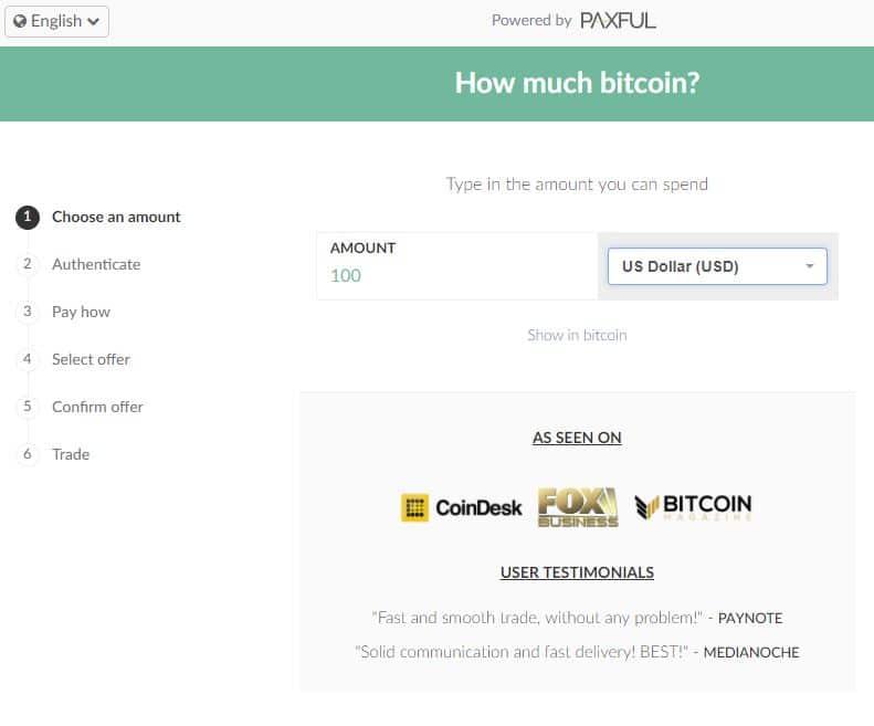 achat de bitcoin sur Paxful