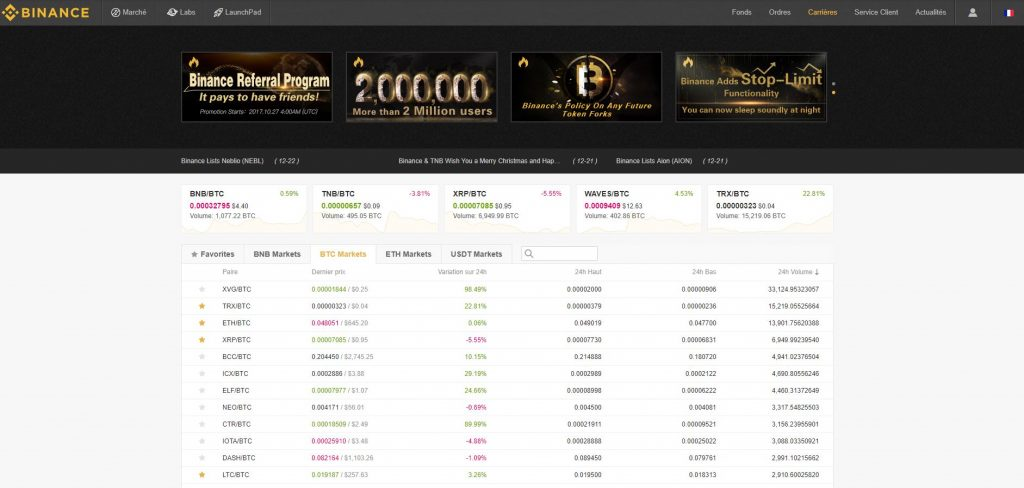 binance-website
