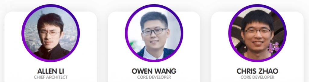 équipe de développeurs
