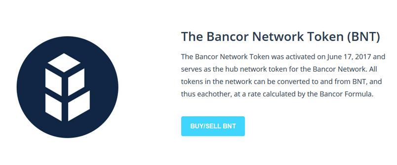 Bancor Network Token (BNT)