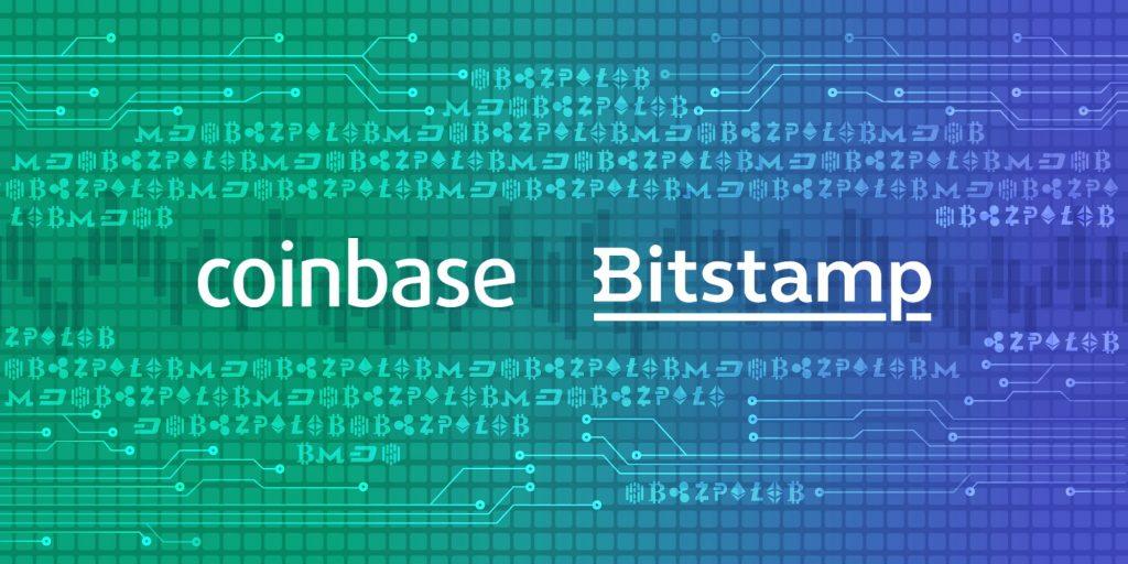 Coinbase vs Bitstamp