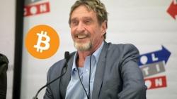 Le Bitcoin atteignant les 1 million de dollars d'ici 2020 est une estimation prudente, selon McAfee